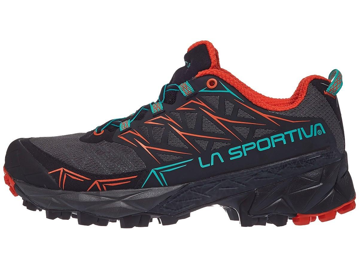 Zapatillas Mujer La Sportiva Akyra Negro/Aqua