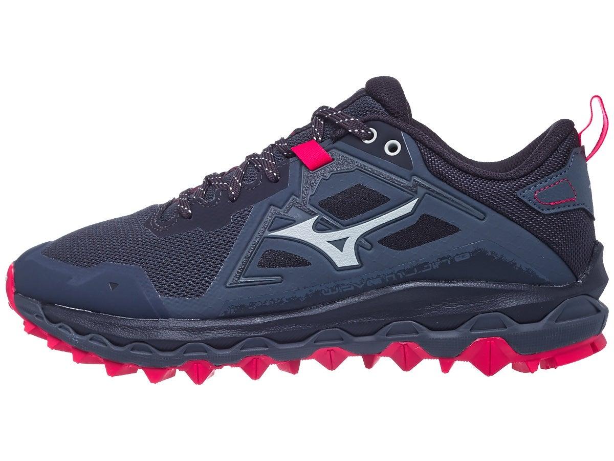 Mizuno Wave Mujin 8 Women's Shoes Turbulence/Red