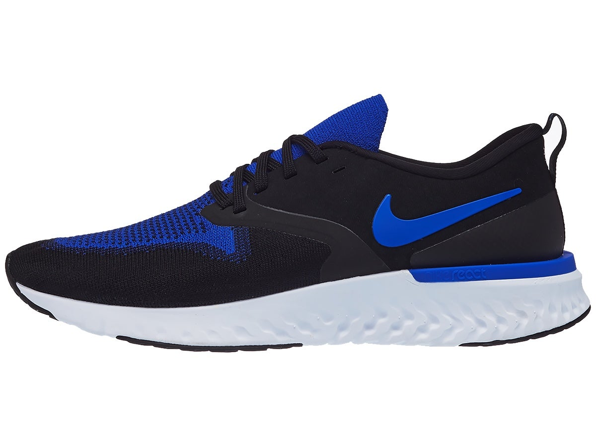 Zapatillas Hombre Nike Odyssey React 2 Flyknit Negro/Azul