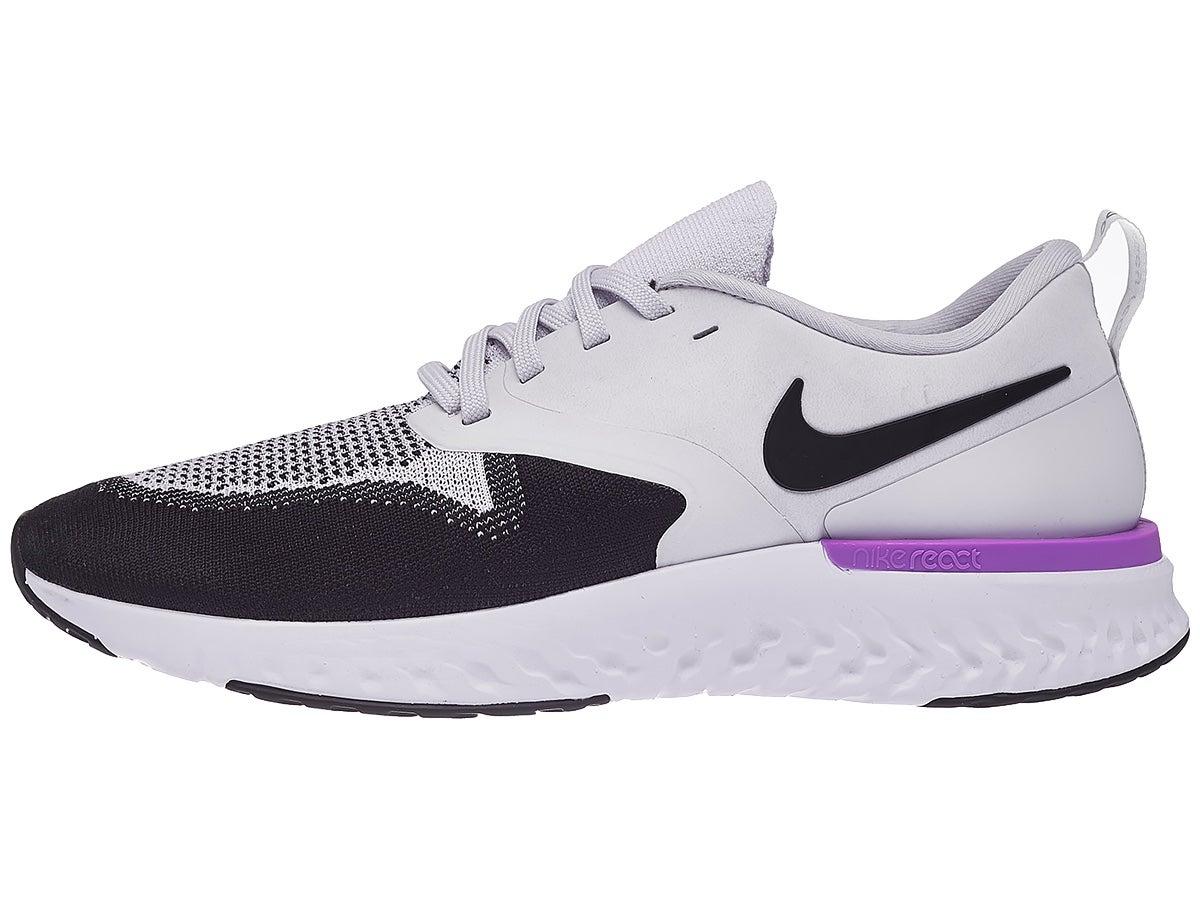 Zapatillas Hombre Nike Odyssey React 2 Flyknit Blanco/Negro