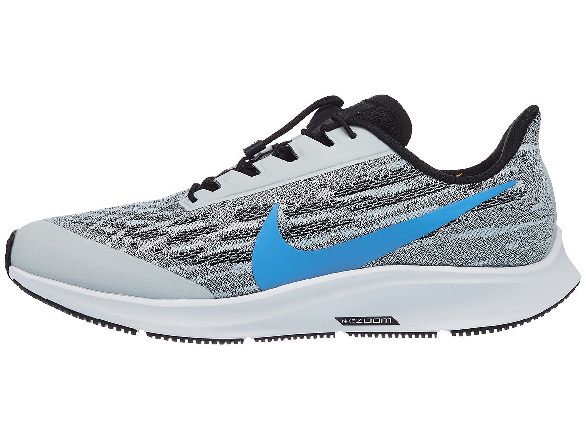 Nike Zoom Pegasus 36 Flyease Men's Shoes Grey/Blue