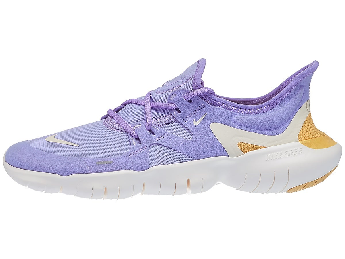 Nike Free RN 5.0 Women's Shoes Purple Agate/Ivory
