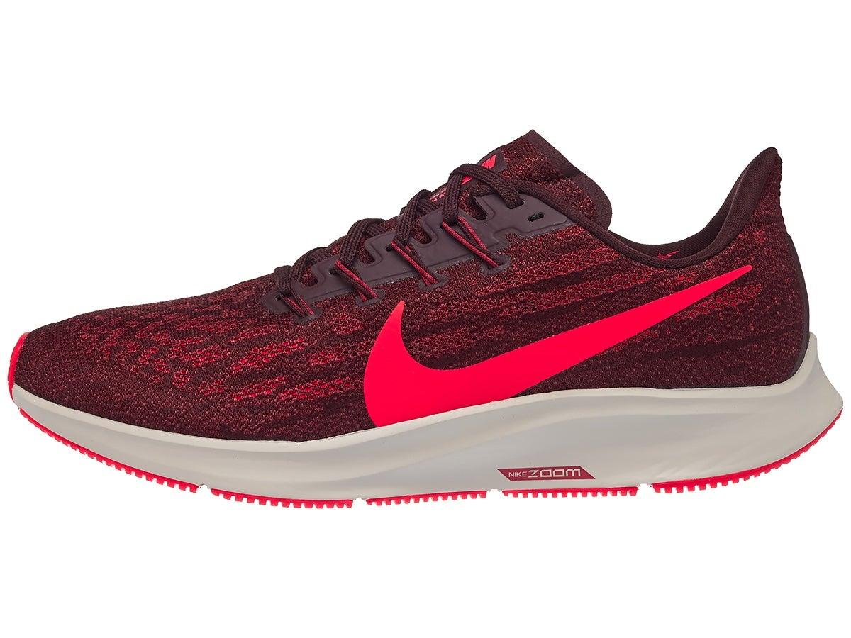 Zapatillas Hombre Nike Zoom Pegasus 36 Rojo Mahogany