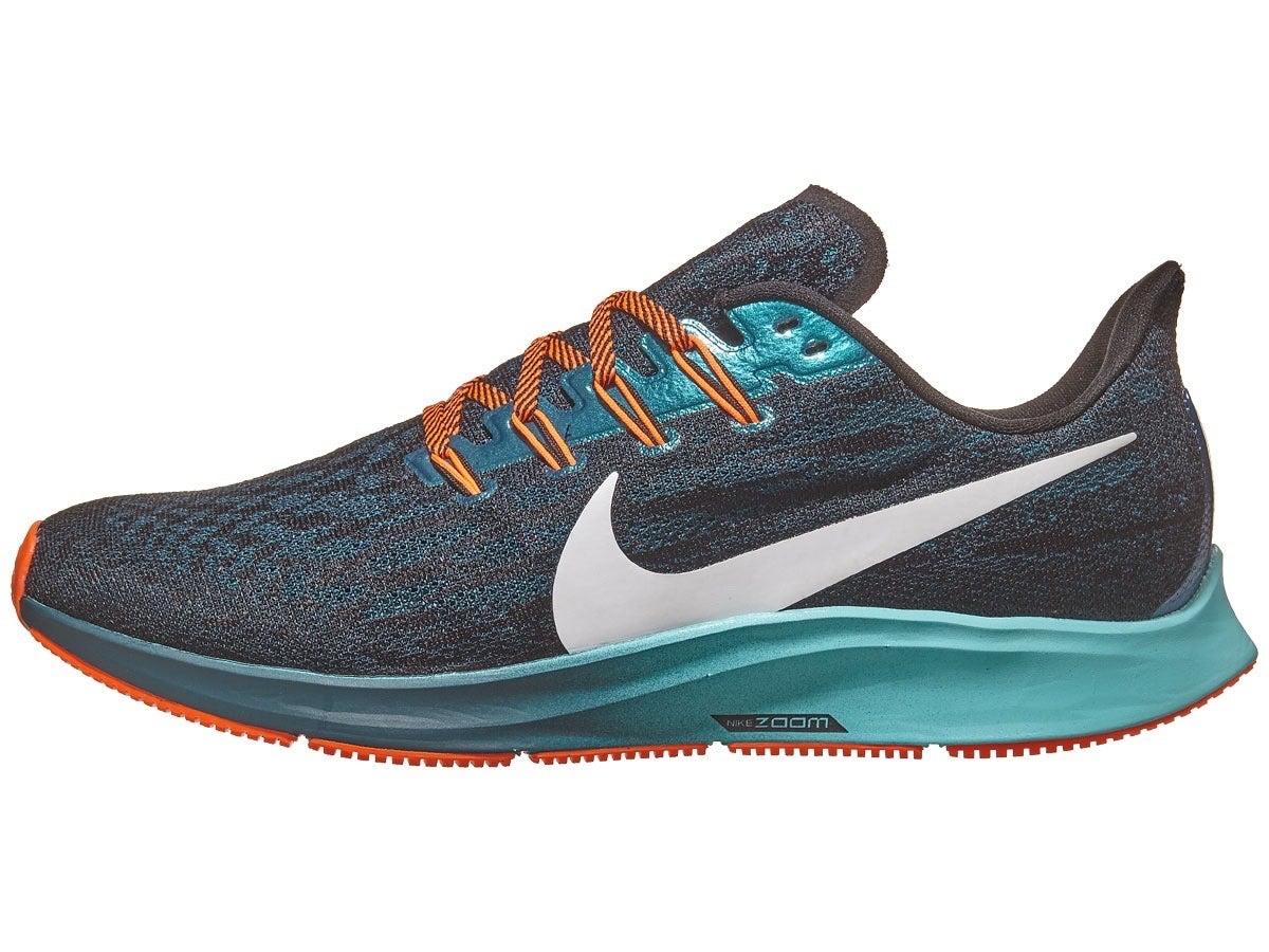 Zapatillas Hombre Nike Zoom Pegasus 36 Turquesa Midnight/Blk