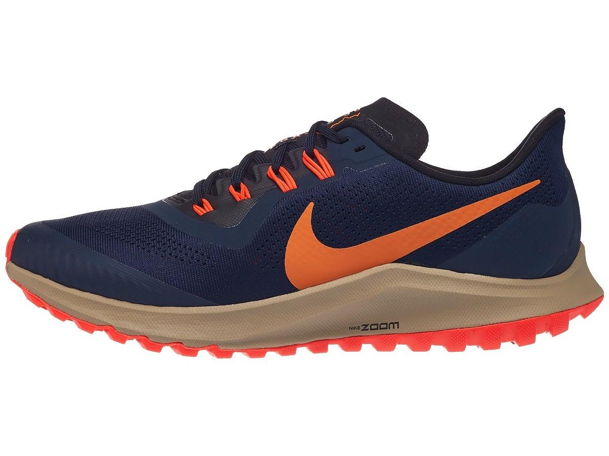 Zapatillas Hombre Nike Zoom Pegasus 36 Trail Obsidian/Naranja