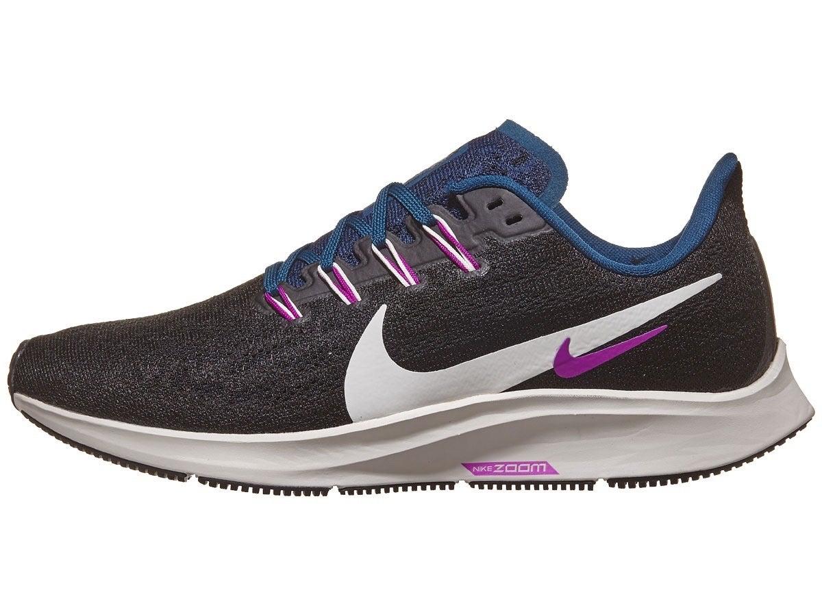 Zapatillas Mujer Nike Zoom Pegasus 36 Negro/Blanco/Morado