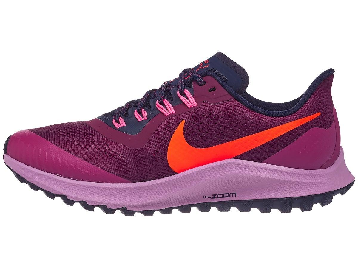 Zapatillas Mujer Nike Zoom Pegasus 36 Trail Rojo Villain