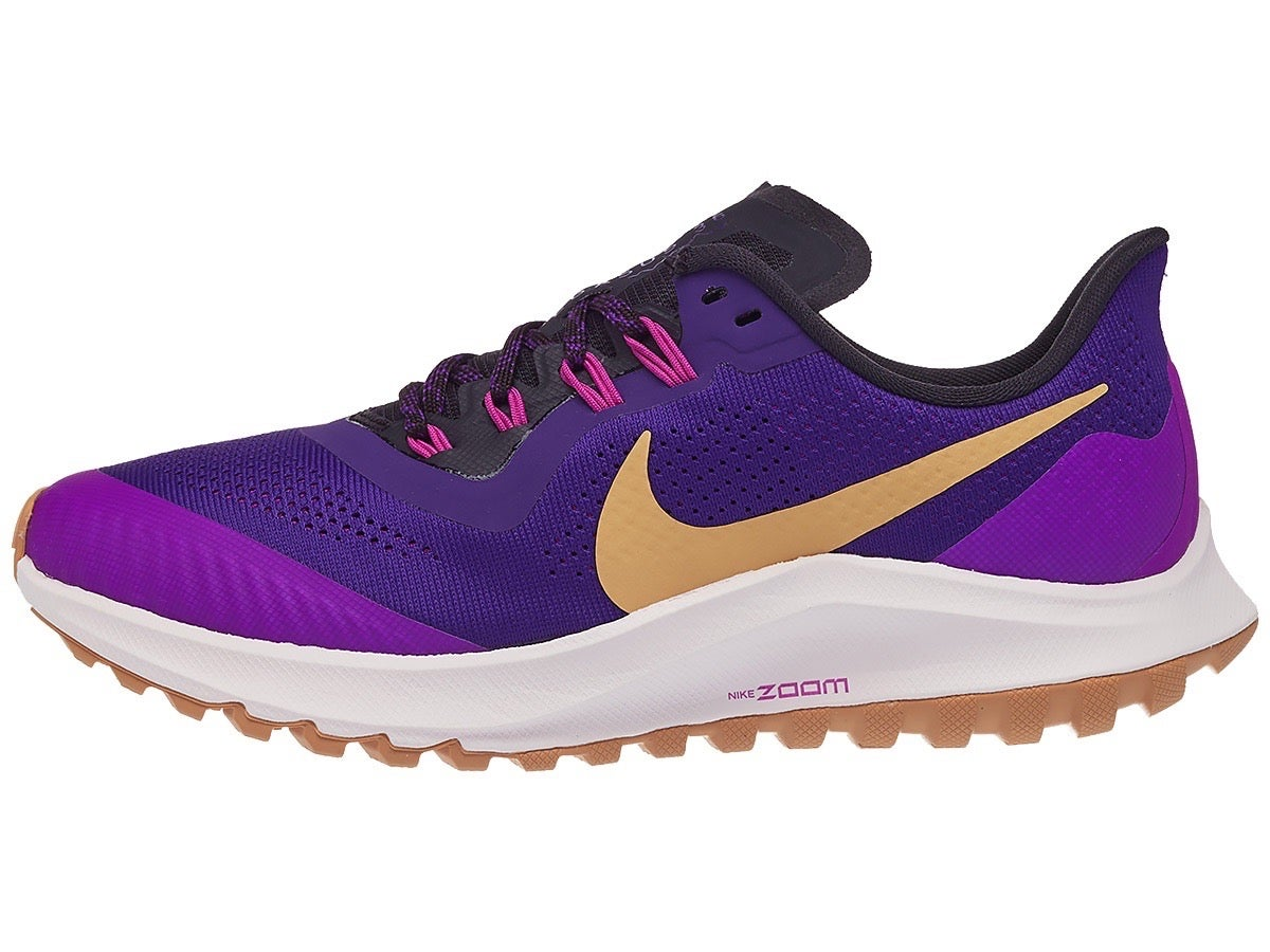Zapatillas Mujer Nike Zoom Pegasus 36 Trail Morado Voltage
