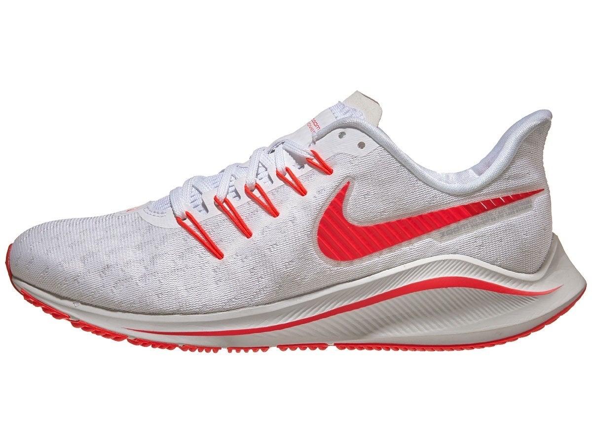 Zapatillas Mujer Nike Zoom Vomero 14 Blanco/Carmesí