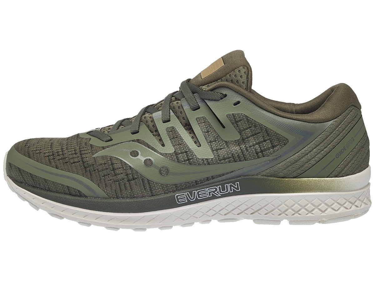 reputable site d28d0 725d7 Zapatillas Hombre Saucony Guide ISO 2 Verde Oliva Shade
