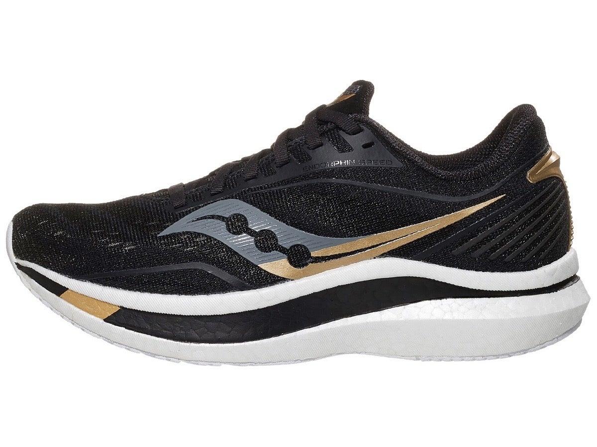 Zapatillas Mujer Saucony Endorphin Speed Negro/Dorado