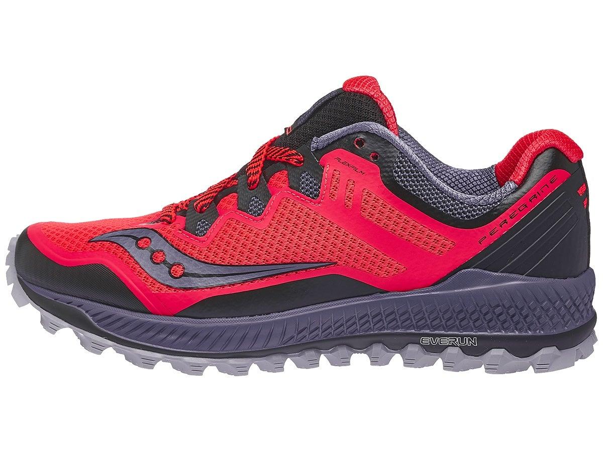 Zapatillas Mujer Saucony Peregrine 8 Rojo ViZi/Gris/Negro