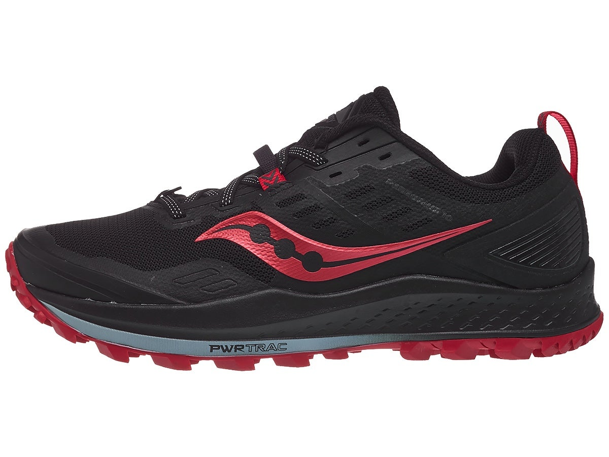 Zapatillas Mujer Saucony Peregrine 10 Negro/Barberry