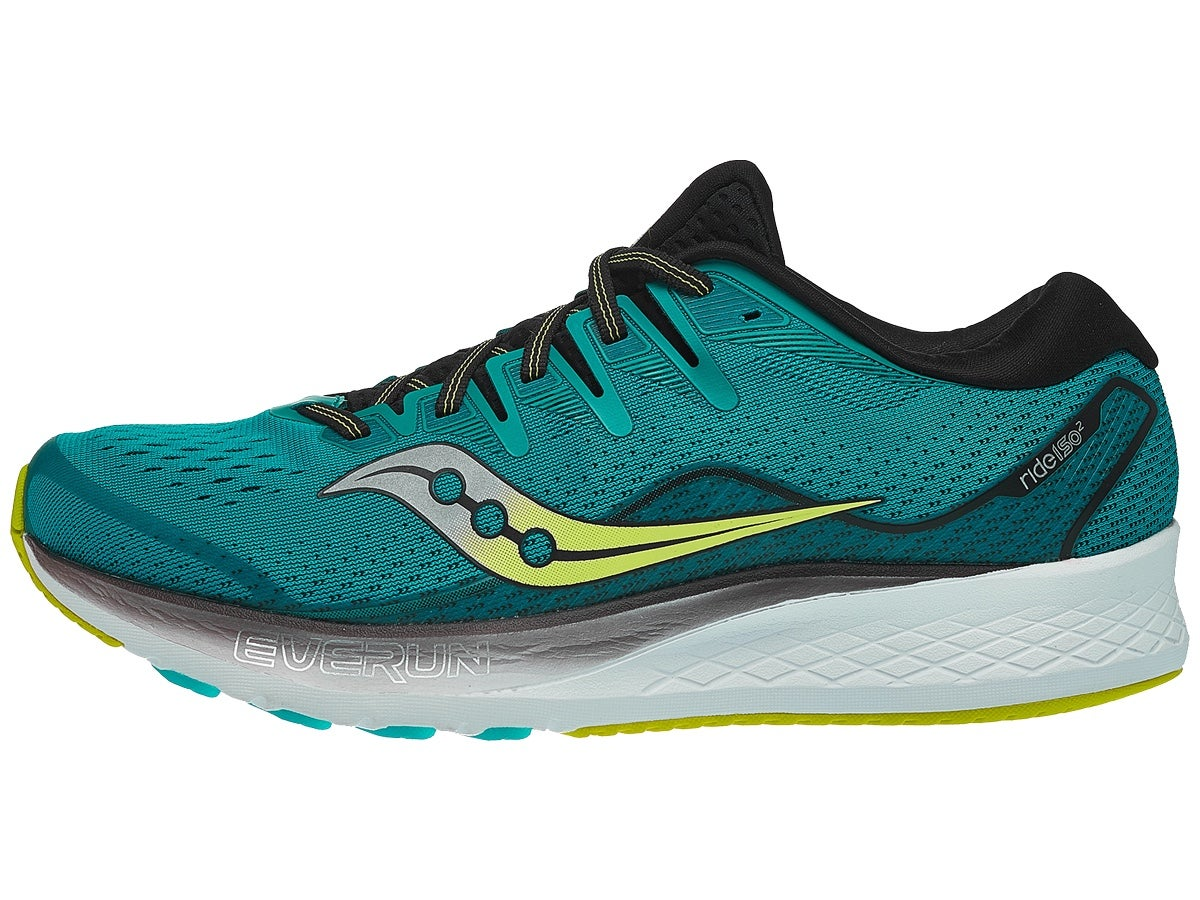 Saucony Ride ISO 2 Men's Shoes Teal/Black