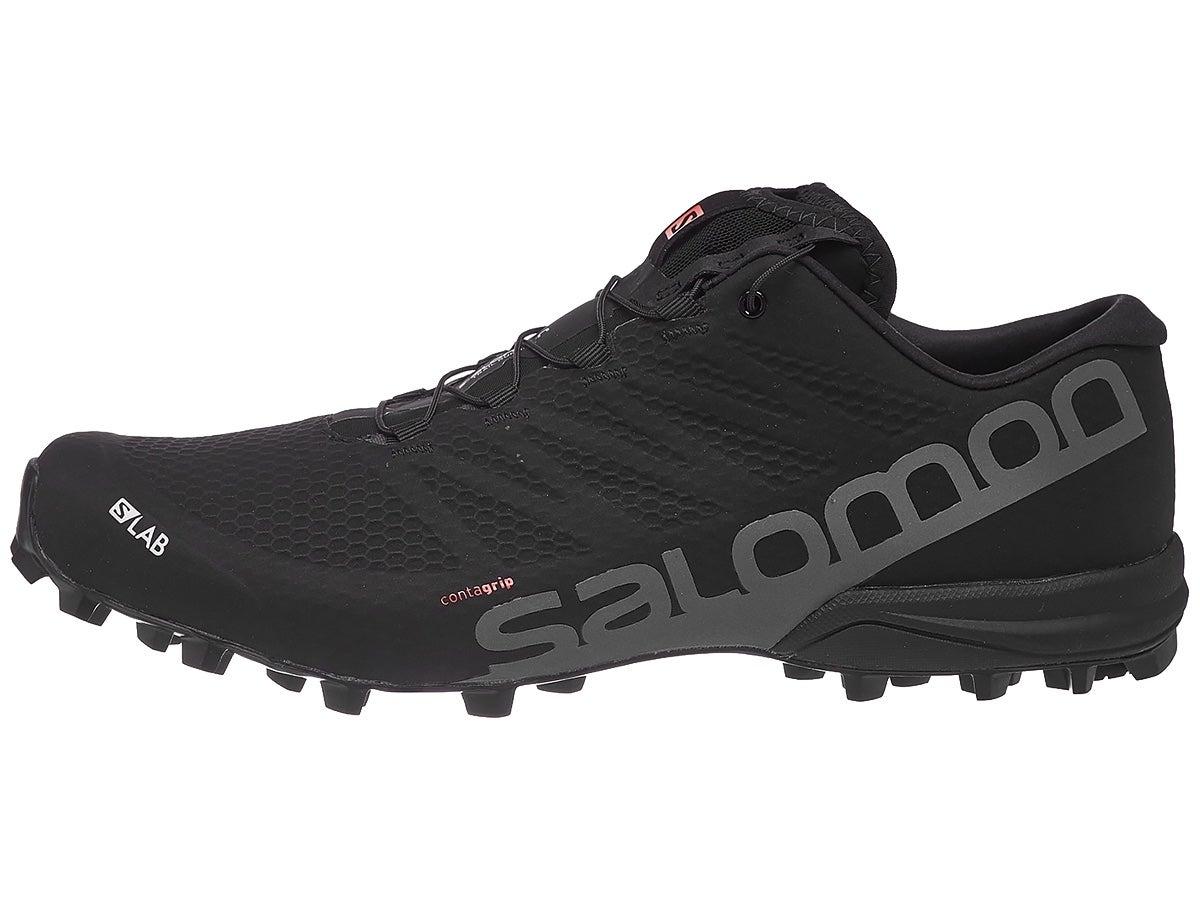 Zapatillas Unisex Salomon S-Lab Speed 2 Negro/Rojo Racing