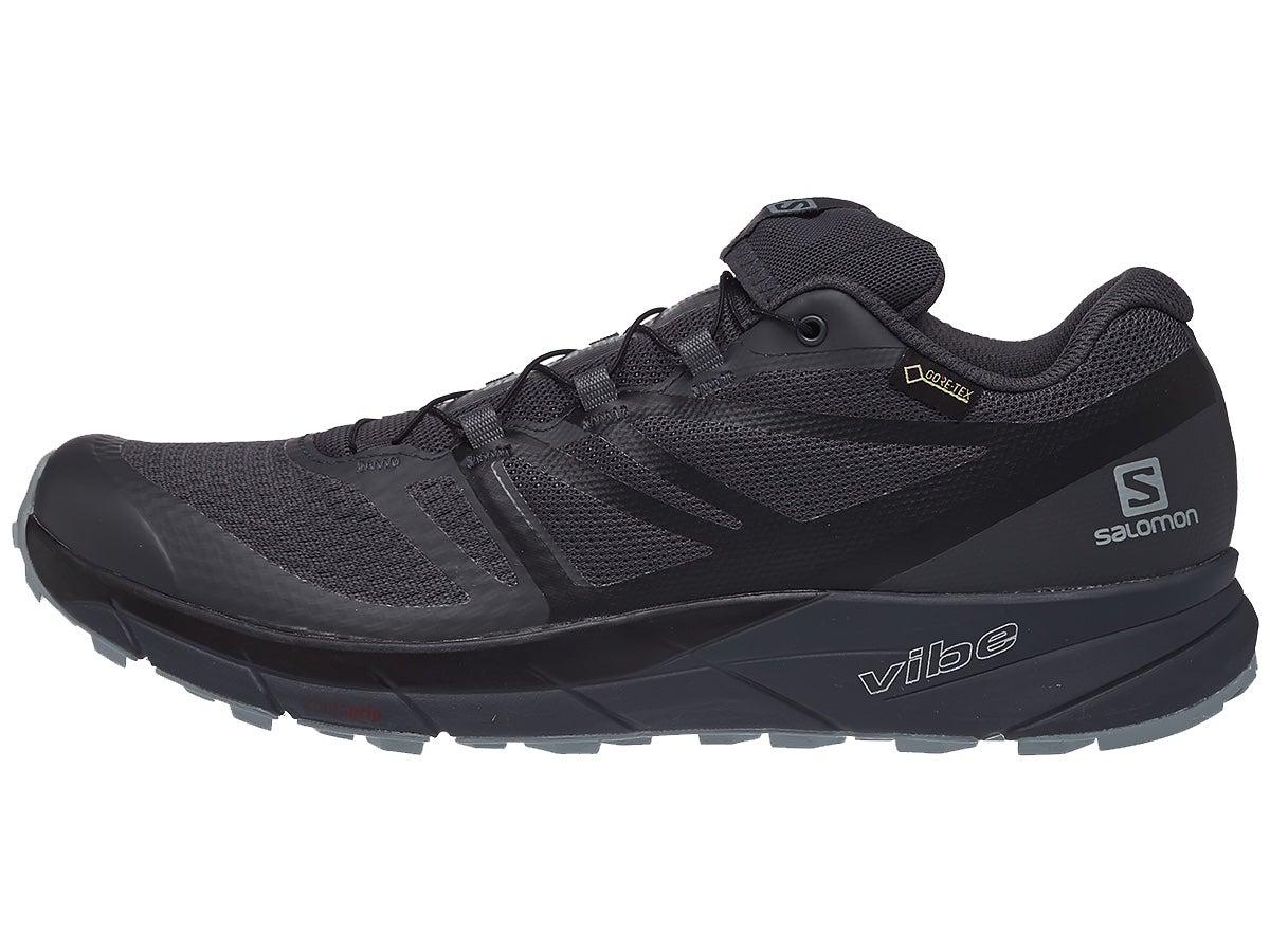 Salomon Sense Ride 2 GTX Men's Shoes Black/Ebony