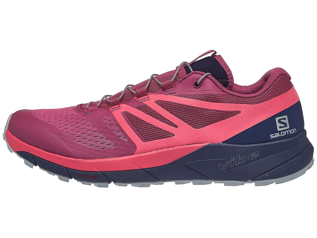 Salomon Sense Ride 2 Women's Shoes Red/Blue