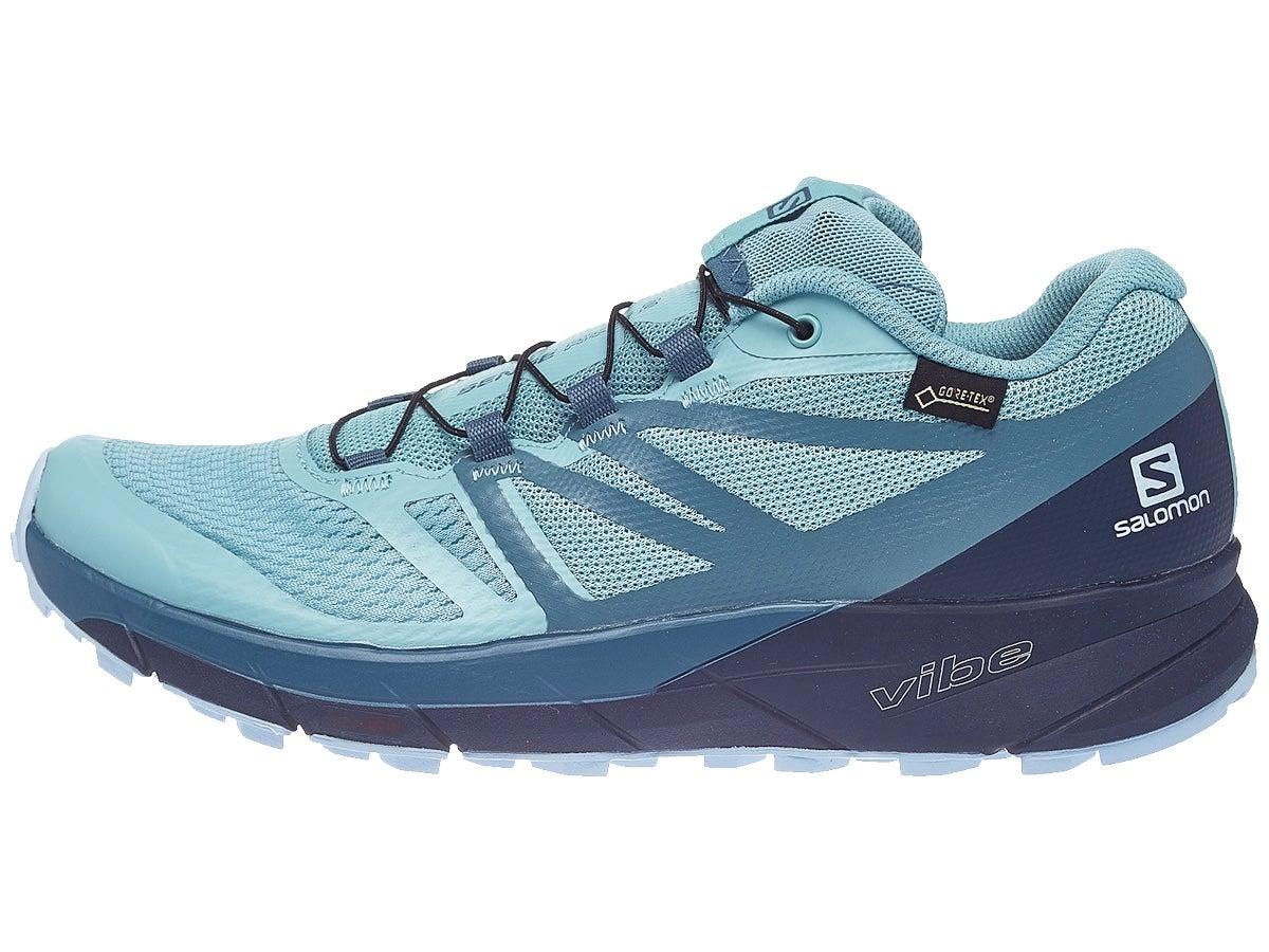 Zapatillas Mujer Salomon Sense Ride 2 GTX Invis Fit Azul