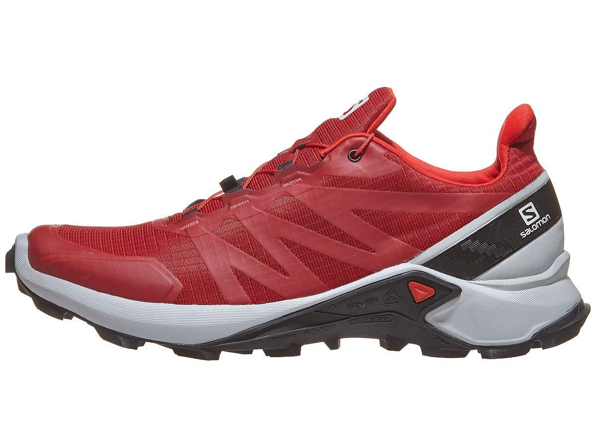 Zapatillas Hombre Salomon Supercross Rojo/Azul/Negro