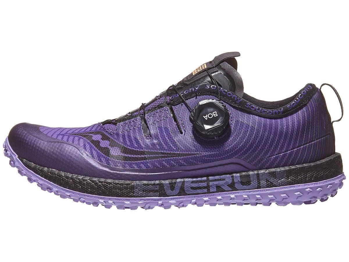 Zapatillas Mujer Saucony Switchback ISO Morado/Negro
