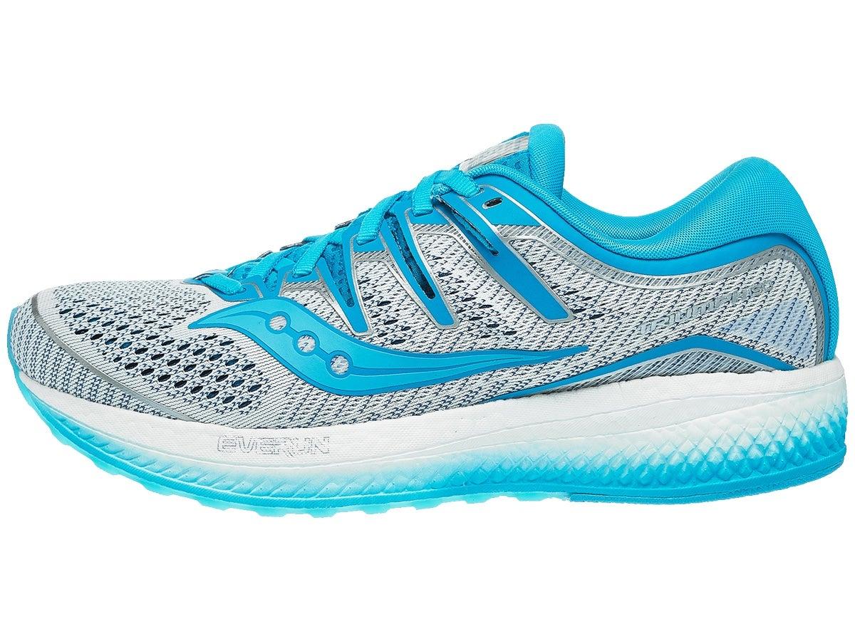 Zapatillas Mujer Saucony Triumph ISO 5 Blanco/Azul