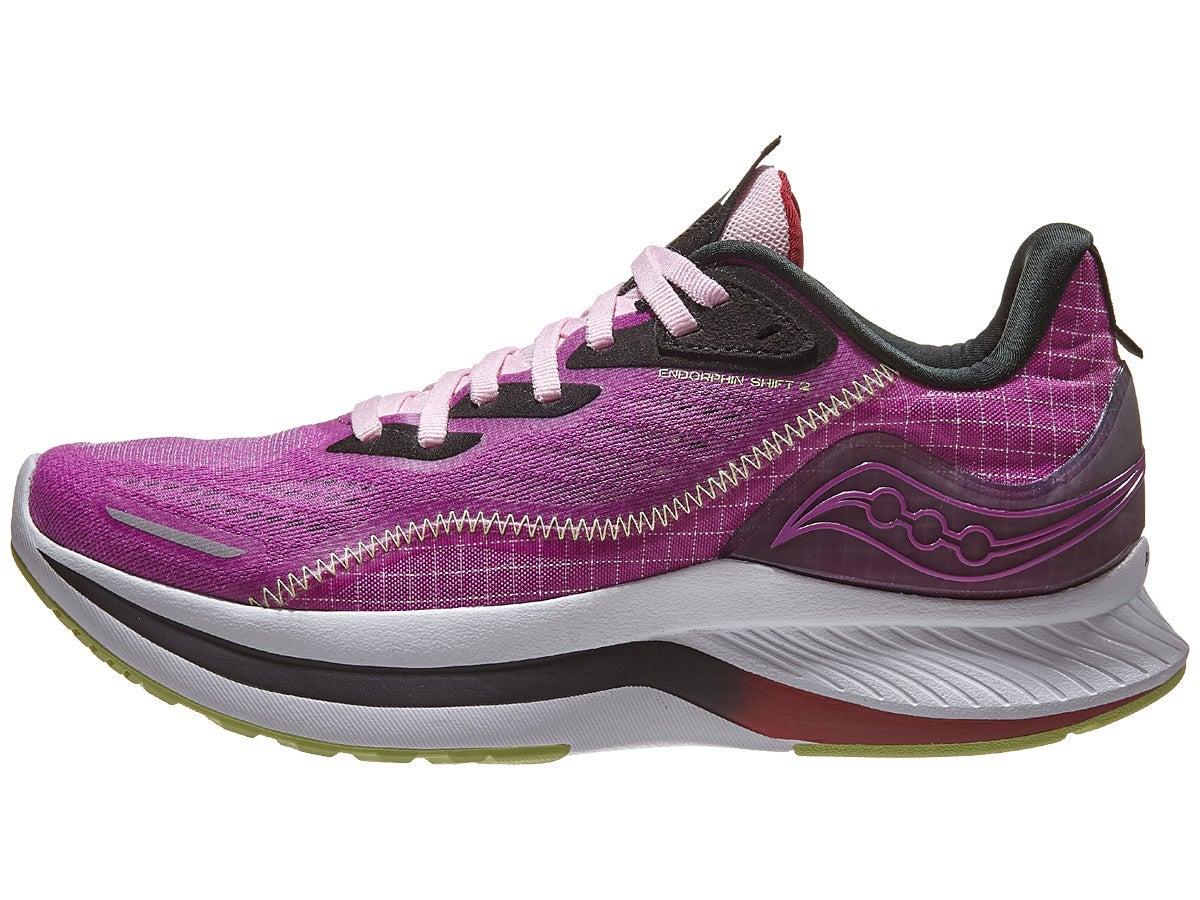Saucony Endorphin Shift 2 Women Shoes Razzle/Limelight