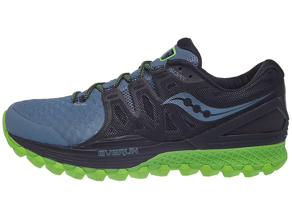 Zapatillas Hombre Saucony Xodus ISO 2 Gris/Negro/Verde
