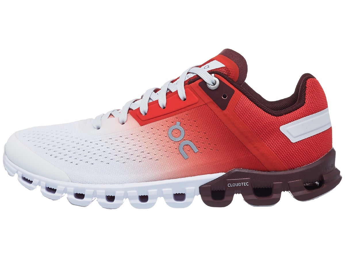 ON Cloudflow Women's Shoes Rust/White