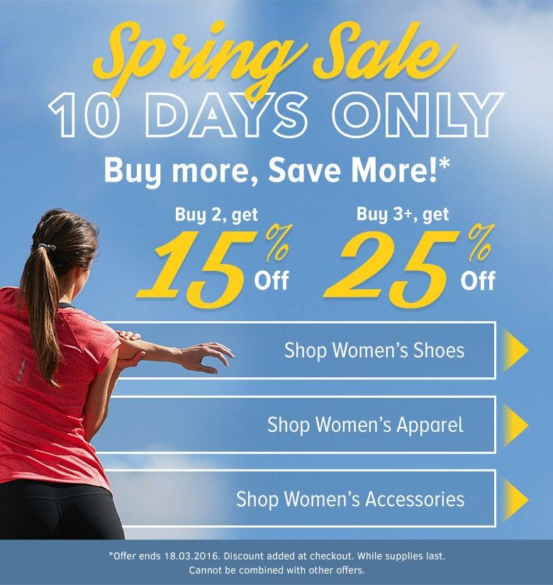 Women's Spring Sale Landing