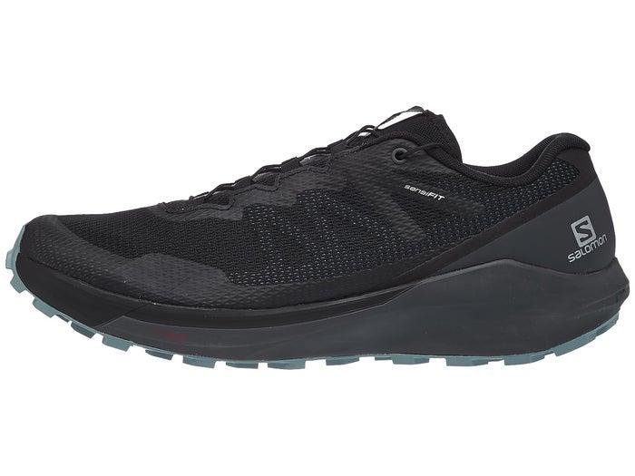 top quality details for new list Salomon Sense Ride 3 Men's Shoes Black/Ebony/Lead