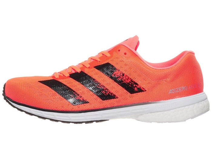 first look hot products cheap for sale Chaussures Homme adidas adizero adios 5 Orange/Noir