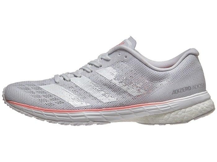 Adidas Adizero Adios 5 Women S Shoes Grey Coral