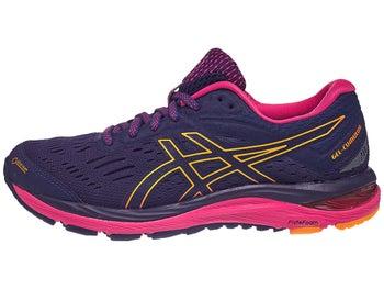 ASICS Gel Cumulus 20 GTX Women s Shoes Dark Blue Pink 935a6b3f9b6