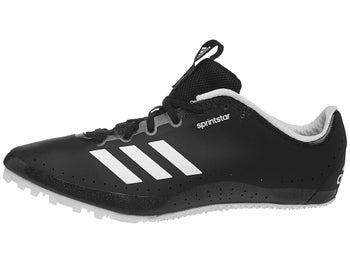 new style 69ff6 12f29 adidas Sprintstar Spikes Women s Black White