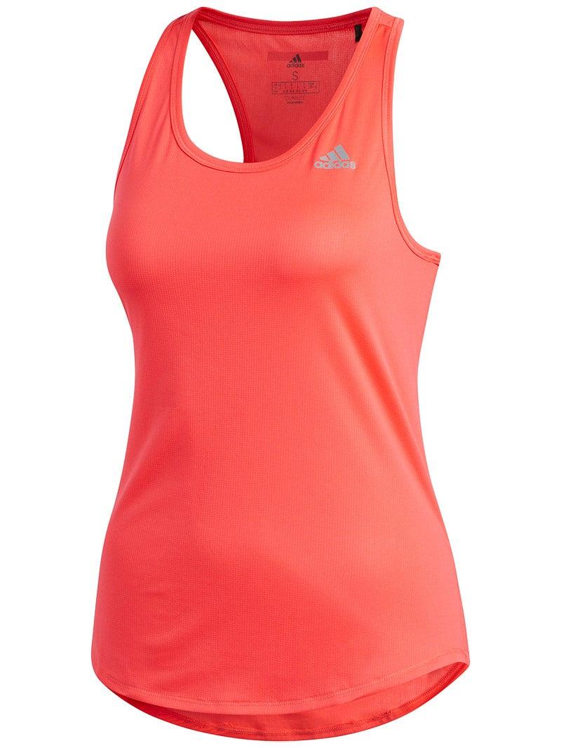 Pink Adidas Supernova Mesh Womens Running Vest Tank Top