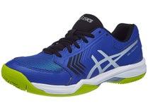 Asics Gel Dedicate 5 Clay Black Blue Yellow Men s Shoes 69e9875139f