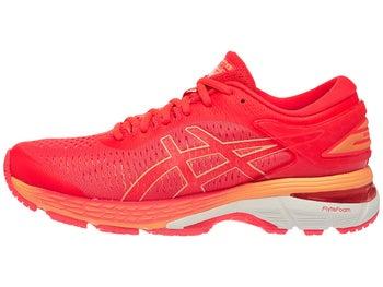 asics gel kayano 25 women s shoes pink orange
