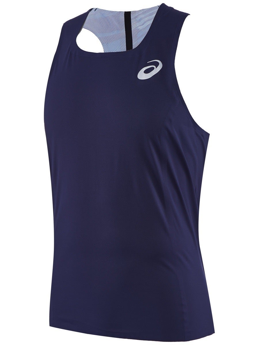 Puma Team Race Mens Running Singlet Green Breathable Lightweight Race Vest