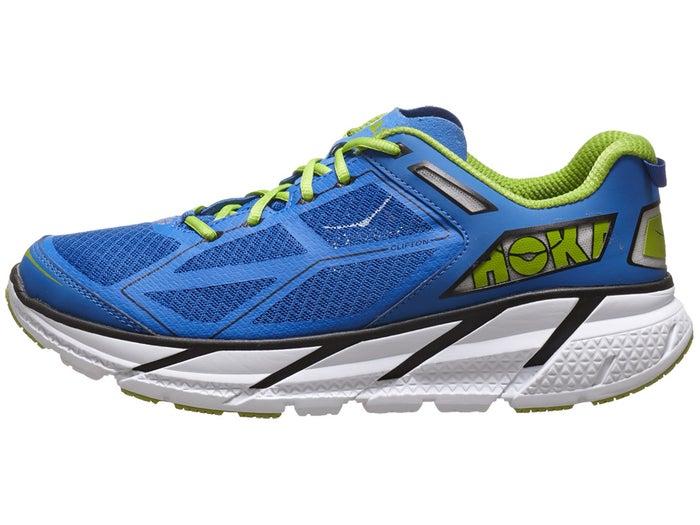 sale retailer 94365 08d32 HOKA ONE ONE Clifton 1 Men's Shoes Blue/Black/White