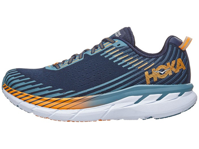 best loved size 7 buy popular Chaussures Homme HOKA ONE ONE Clifton 5 Noir/Bleu Storm