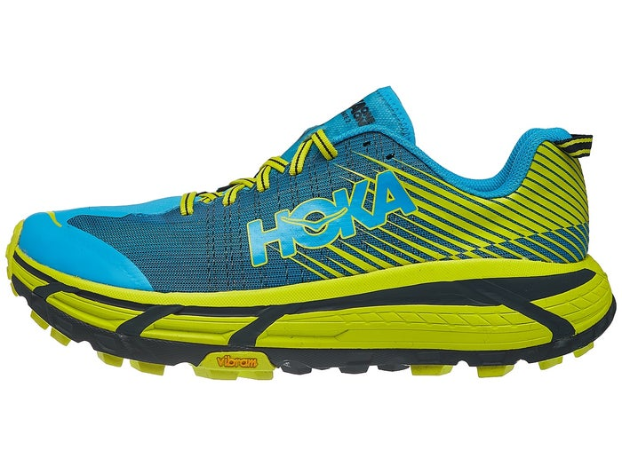 pretty nice 33e7a 878ed HOKA ONE ONE Evo Mafate 2 Men's Shoes Cyan/Citrus