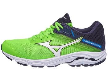 new style bd106 8c364 Chaussure Homme Mizuno Wave Inspire 15 Vert Gecko Blanc