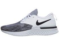 new styles 8bd23 caebc Nike Odyssey React 2 Flyknit White Black