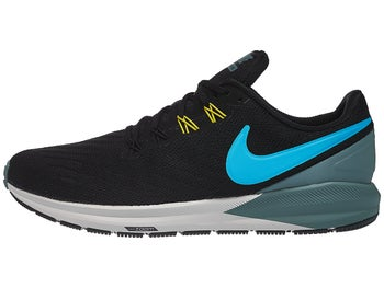 check out 5fd7a b08e7 Nike Zoom Structure 22 Men s Shoes Black Blue Grey