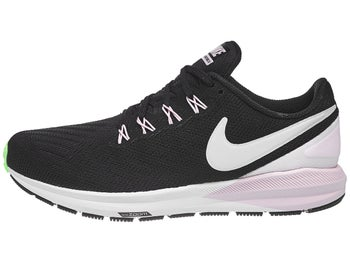 sports shoes b3fa2 1a0a1 Chaussures Femme Nike Zoom Structure 22 Noir Gris Rose