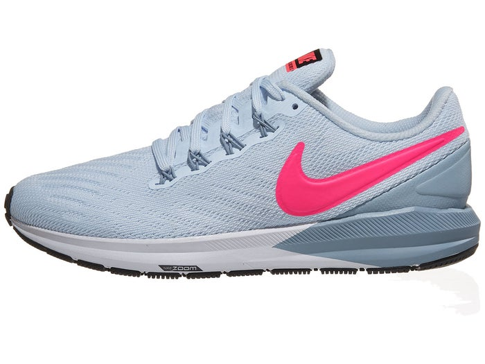 run shoes best sale sold worldwide Nike Zoom Structure 22 Women's Shoes Half Blue/Pink
