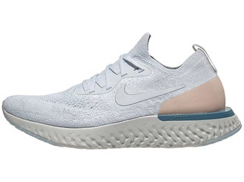 best sneakers ad330 1f047 Nike Epic React Flyknit Damen Laufschuh Pure Platinum