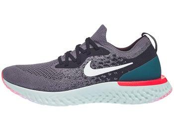 6f94a1807691 Zapatillas Hombre Nike Epic React Flyknit Gris Blanco