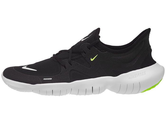 söpö alennus laaja valikoima Nike Free RN 5.0 Men's Shoes Black/White