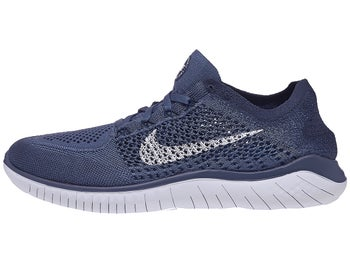 cheap for discount ba22d 4e3be Nike Free RN Flyknit 2018 Men s Shoes Blue Grey